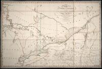 A map of the Province of Upper Canada: describing all the new settlements, townships, &c., with the countries adjacent, from Quebec to Lake Huron : compiled, at the request of His Excellency Major General John G. Simcoe, First Lieutenant Governor